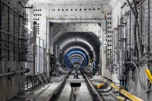Bild Tunnelbau